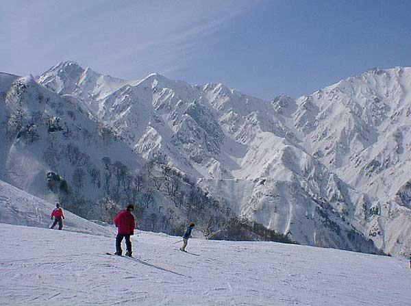 冬の白馬五竜スキー場 信州の旅....