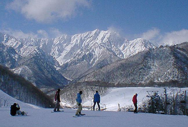 鹿島槍スキー場 -信州の旅.com-