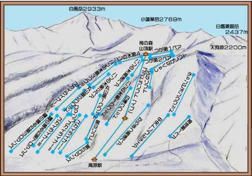 栂 池 高原 スキー 場